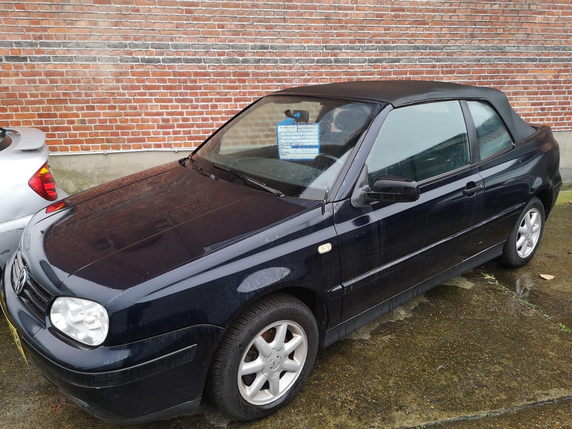 Volkwagen Golf Cabrio €2.950,00